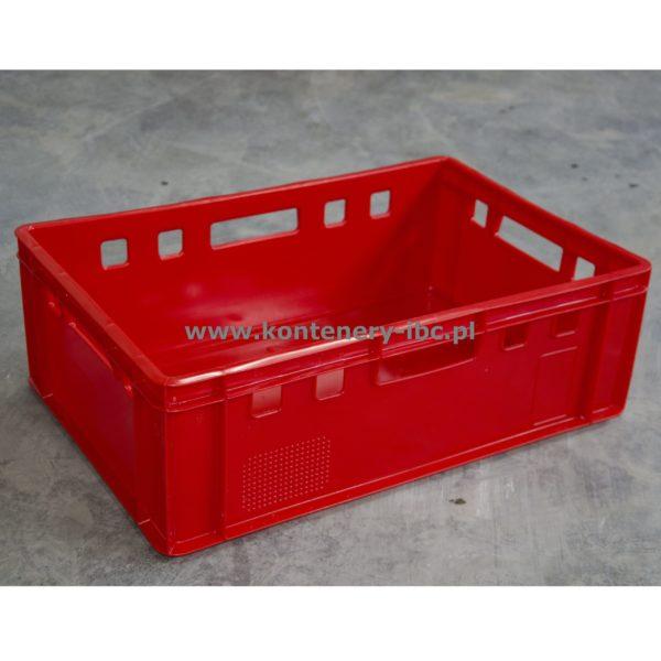 Kontener WERIT skrzynka E2 czerwona 600x400x200