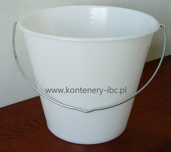 Wiadro plastikowe 12 litrów z atestem spożywczym